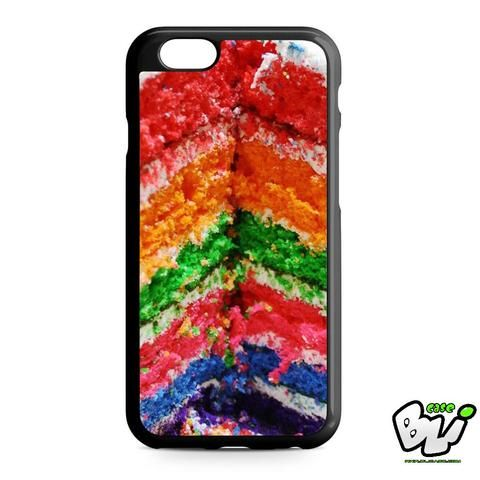 Colorful Rainbow Cake iPhone 6 | iPhone 6S Case