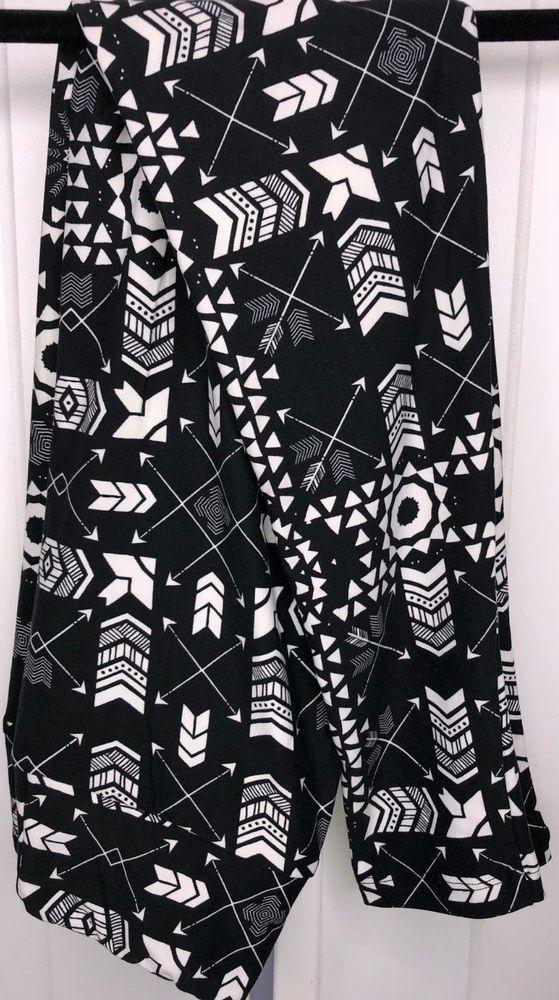 7996c08e5c28a Lularoe Leggings OS Black White Arrows Geo Unicorn New L236 #fashion  #clothing #shoes #accessories #womensclothing #leggings (ebay link)