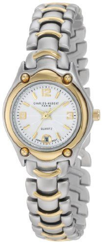 Charles-Hubert, Paris Women's 6630 Classic Collection  Watch Charles-Hubert, Paris. $72.00. Deluxe Gift Box. Two-Tone Case and Band. Date Display. Japanese Quartz Movement. Lifetime Movement Warranty. Save 31%!