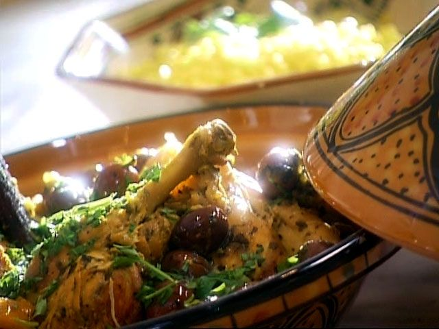 di Stasio - Tajine de poulet aux olives et au citron confit