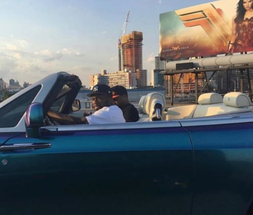 50 Cent PULLS UP In Southside Jamaica, Queens Driving Rolls Royce Looking For Irv Gotti! -