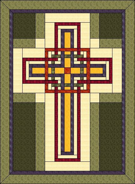 Cross Quilt Pattern Carpenters Corner Cross Celtic