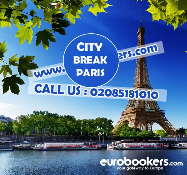 Paris City Breaks - Get the best deals on Holidays in Paris with cheapest fare.Eurobookers offers,discounted and cheap deals on Paris weekend breaks and short breaks.Book online and save with www.eurobookers.com