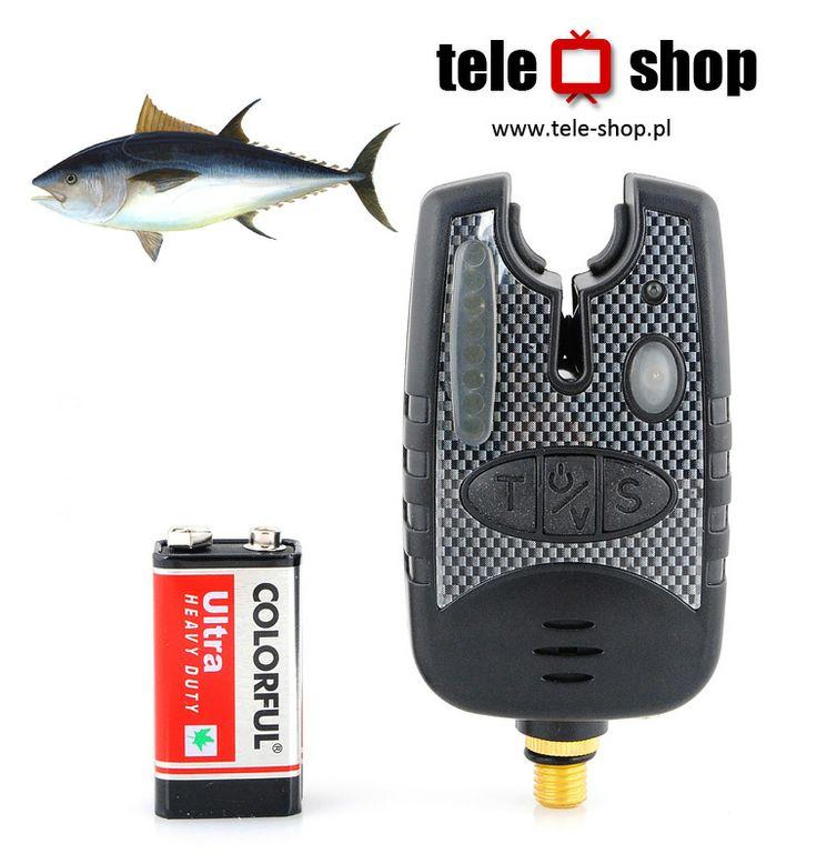 http://tele-shop.pl/ ELEKTRONICZNY SYGNALIZATOR BRAŃ 8 LED. Najbardziej zaawansowany sygnalizator brań. Przyrząd niezbędny dla każdego wędkarza. Sygnalizator wyposażony jest w linię ośmiu diod LED, które sygnalizują kierunek i prędkość brania. Prosta i intuicyjna obsługa zapewnia komfort i przyjemność z wędkowania.