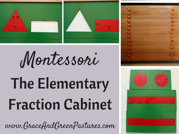 Grace and Green Pastures: The Elementary Fraction Cabinet
