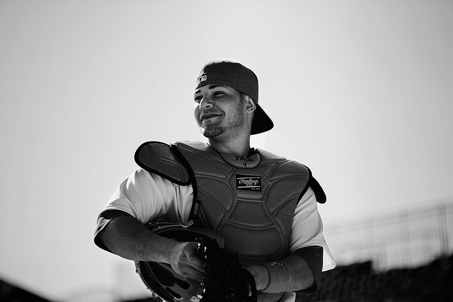 Yadier Molina by Mark Halski, via Flickr