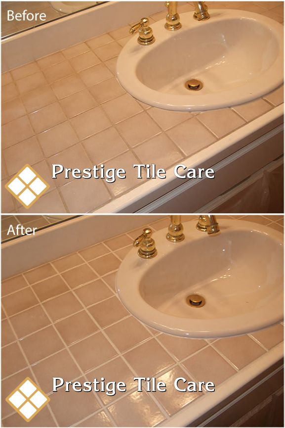 Removing Grout Around Bathroom Sink How To Redo The Grout