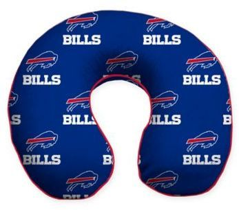 #ad #football #nfl #buffalobills NFL Buffalo Bills Memory Foam U-Shaped Neck Travel Pillow