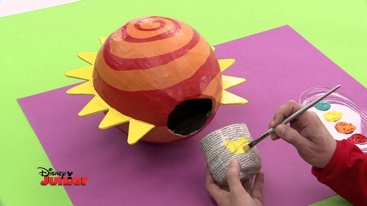 Art Attack - Technique de la plante volante - Sur Disney Junior - VF