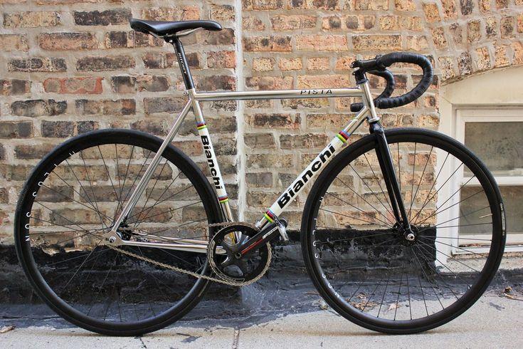 Bianchi Pista - Pedal Room