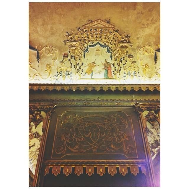 @Eugi Angelini Le bellissime decorazioni sulle pareti e sui soffitti di Palazzo Pepoli Campogrande in via Castiglione 7, da non confondere con Palazzo Pepoli Vecchio (che ospita il museo sulla storia di Bologna)