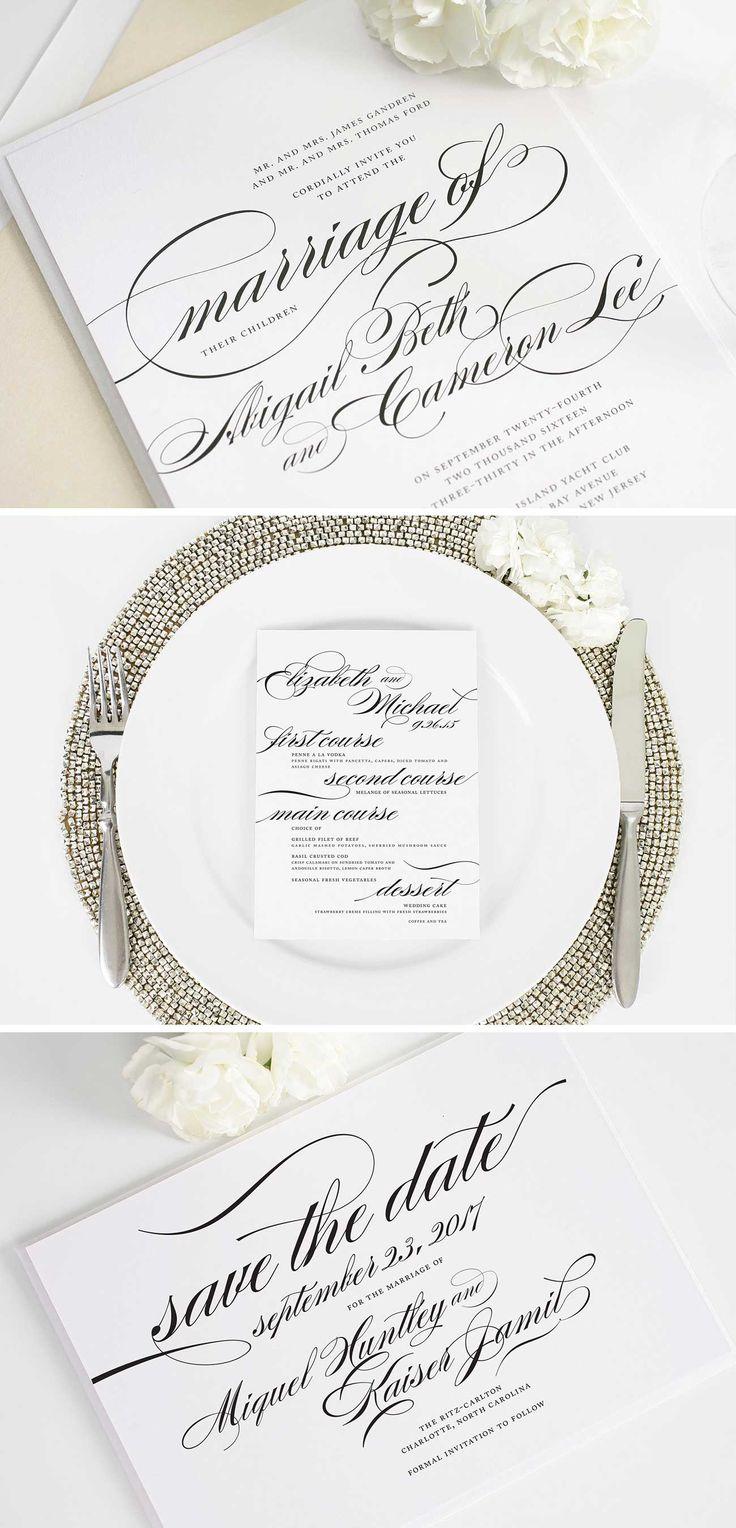 637 Best Invitations Images On Pinterest Wedding Stationery