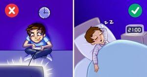 12Hábitos nocturnos que tehacen engordar