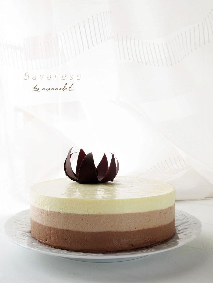 Bavarese tre cioccolati 2