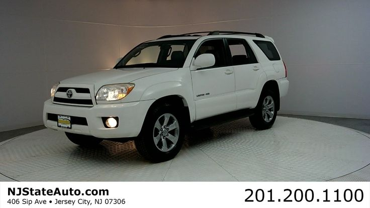 2007 Toyota 4Runner Limited SUV - New Jersey State Auto Auction Used Cars
