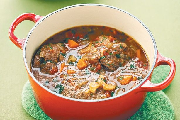 Traditional osso bucco is a warm hearty meal for a cold winter's night.