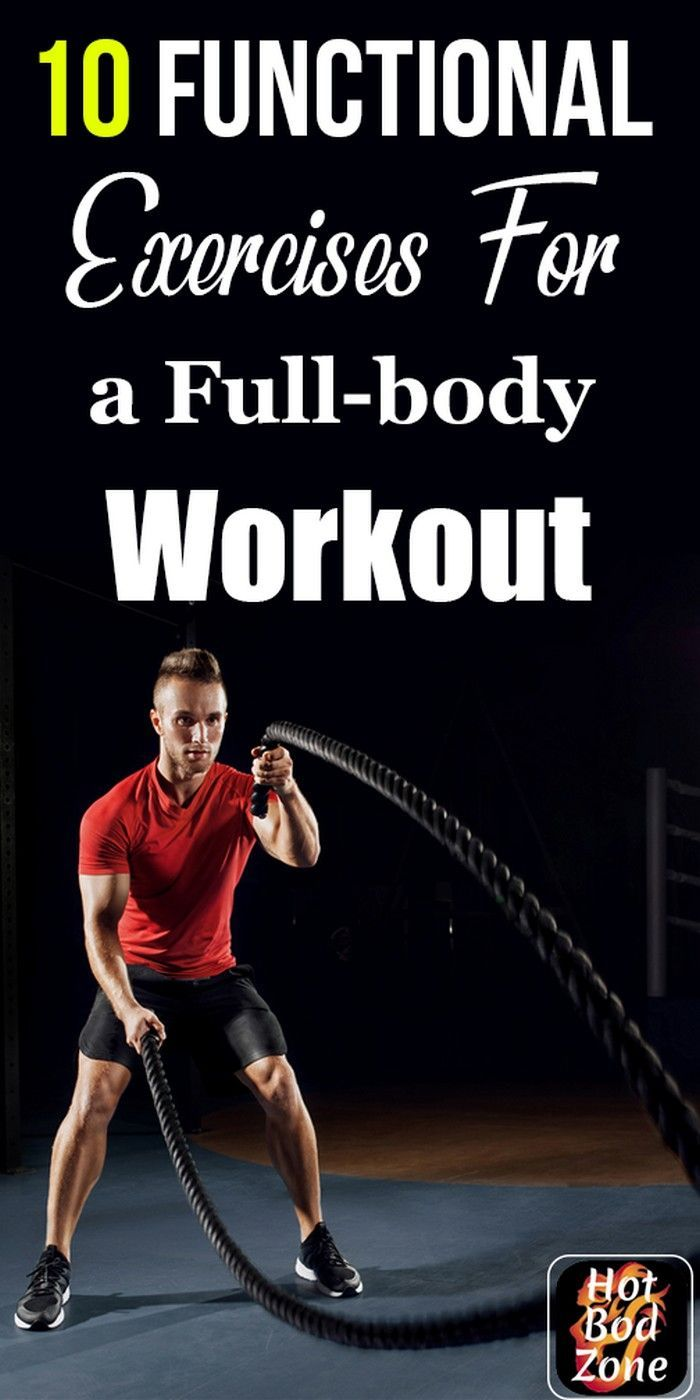 Functional Fitness These Functional Fitness Exercises Improve Your Strength Balance And Power So That Y Best Gym Workout Workout Gym Routine Barbell Workout