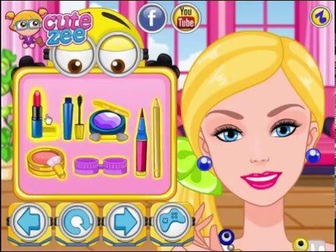 Barbie Minions Make up