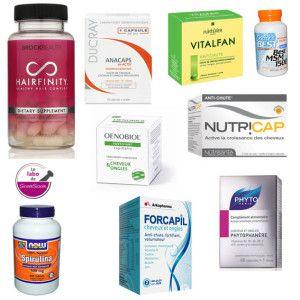 Une cure de vitamines pour cheveux , MSM,Spiruline, B5, B8