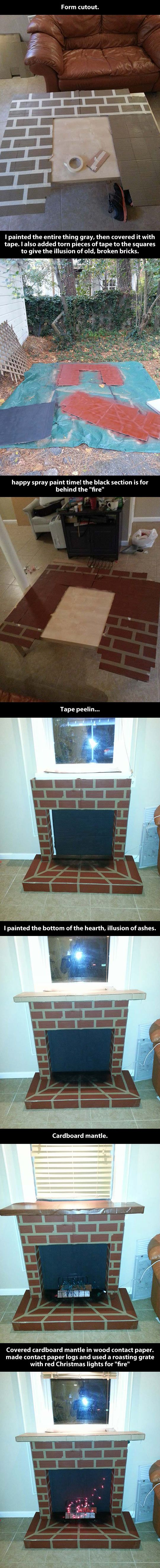 best 25 cardboard fireplace ideas on pinterest apartment