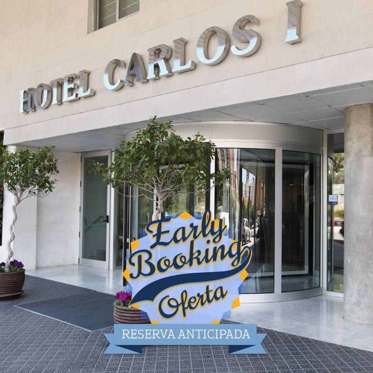 Reserva anticipada = ahorro para el bolsillo  Reserva tus vacaciones con tiempo  ➢ 965 857 190 #HotelCarlosI #hotel #Benidorm #CostaBlanca #reserva #anticipada #earlybooking #vacaciones #verano #planes