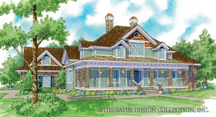 13 best traditional neighborhood design home plans the - Traditional neighborhood design house plans ...