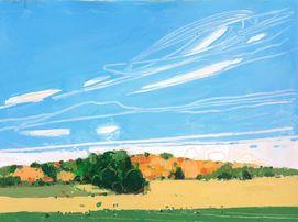 September End. Harry Stooshinoff. I like the clouds.