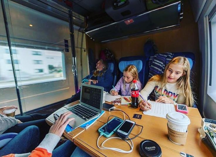 Train travel is a great time to get some school work done when traveling with kids. Pre-book seats with a table! ........................ #europe #icetrain #germany #momblogger #familytravel #travel #blog #school #amsterdam #train http://tipsrazzi.com/ipost/1523593389537591788/?code=BUk5B2NhYHs