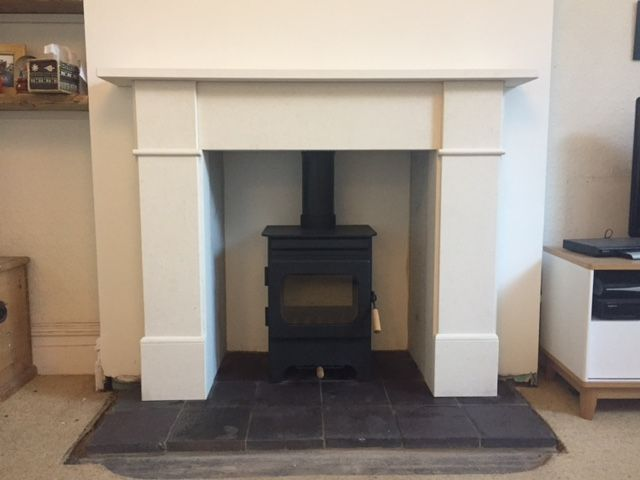 1000 ideas about slate fireplace surround on pinterest