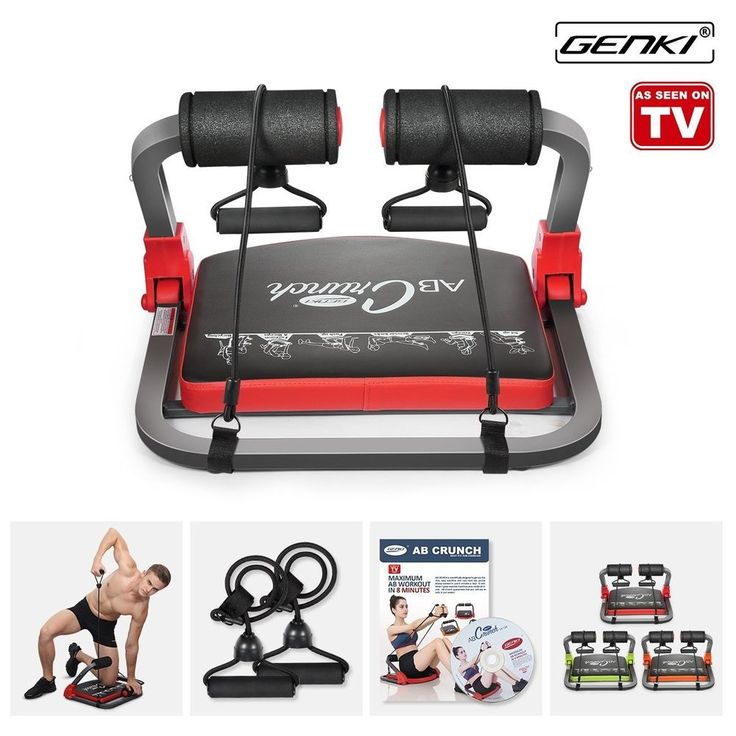Genki core smart body ab toning work out crunch machine