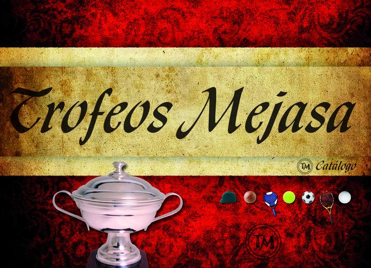 Diseño catálogo de productos empresa trofeos artesanales.