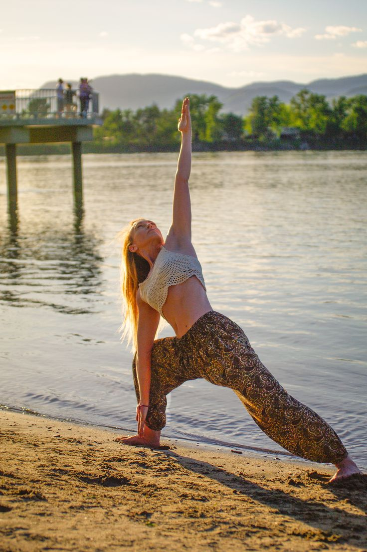 The Flow Harem - Yoga clothing at its finest or just the comfiest pair of pants