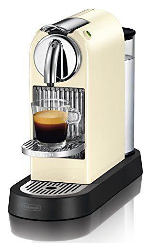 DeLonghi Citiz EN 166.CW - coffee makers (freestanding, Semi-auto, Pod coffee machine, Coffee capsule, caffe lungo, espresso, Black, Cream)