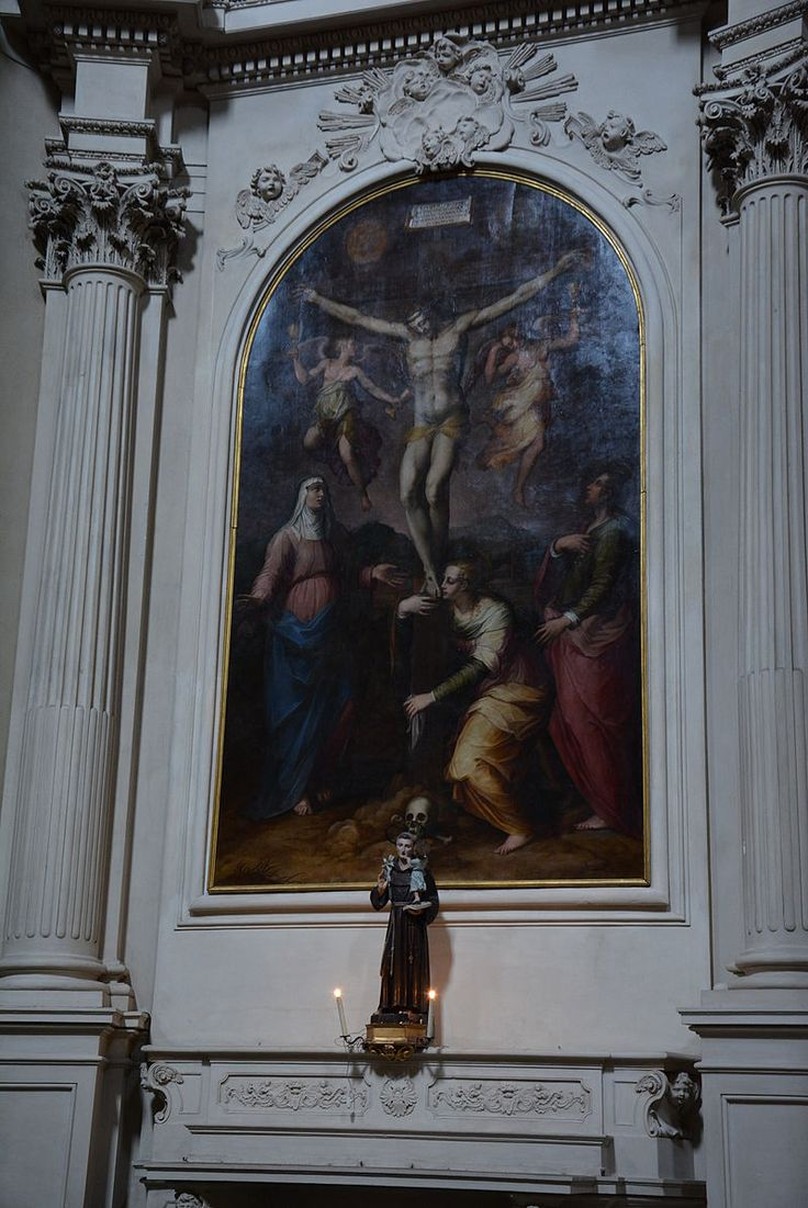 Basilica di Santa Maria del Carmine (Firenze) - altare con il dipinto di Vasari
