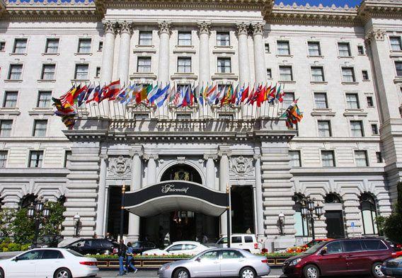 San Francisco Accommodation - Fairmont Hotel