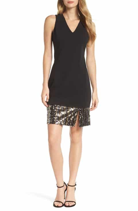 64ef0282 Vince Camuto Sequin Sheath Dress (Regular & Petite) Reviews in 2019 ...