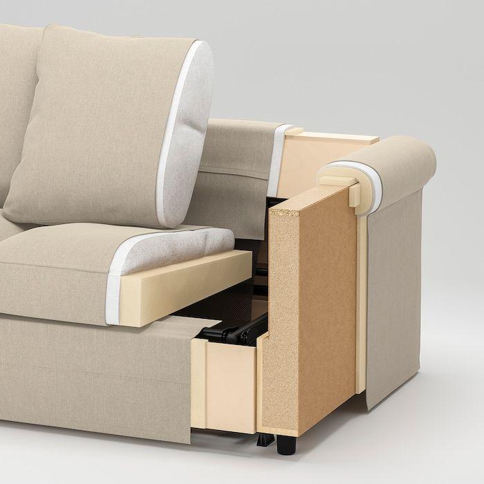 Gronlid Sectional 4 Seat With Chaise Sporda Natural V 2020 G Mebel Dlya Gostinoj Mebelnye Proekty Dizajn Divana