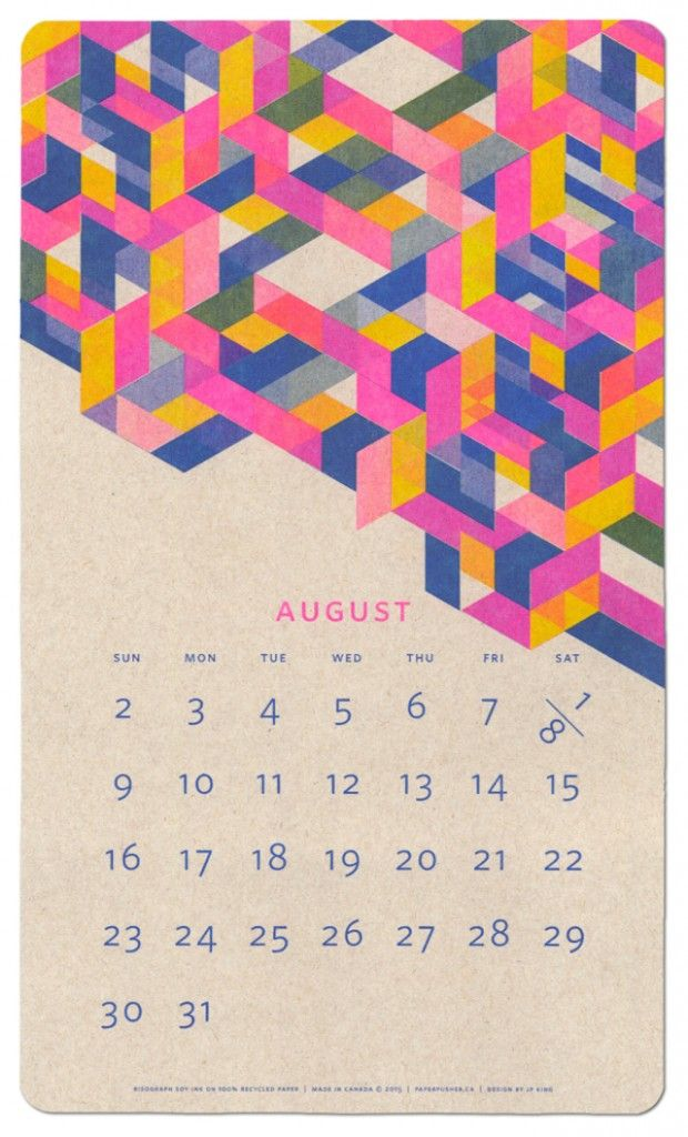 32 best calendar images on pinterest graphics daniel o 2015 isometric risograph calendar publicscrutiny Image collections