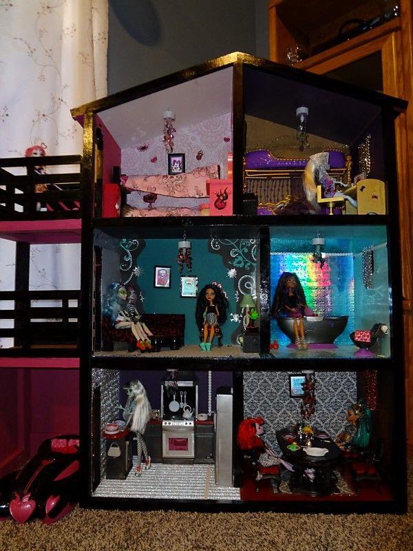Кукольный дом для монстер хай фото