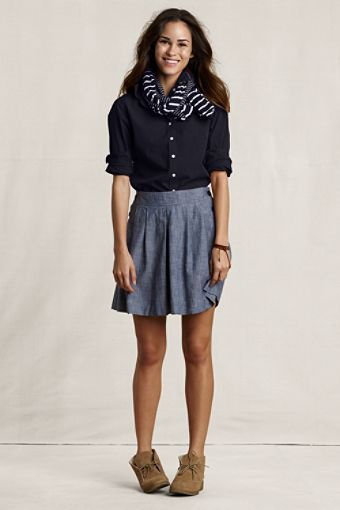 Desert boots with skirts | STYLE INSPIRATION | Pinterest