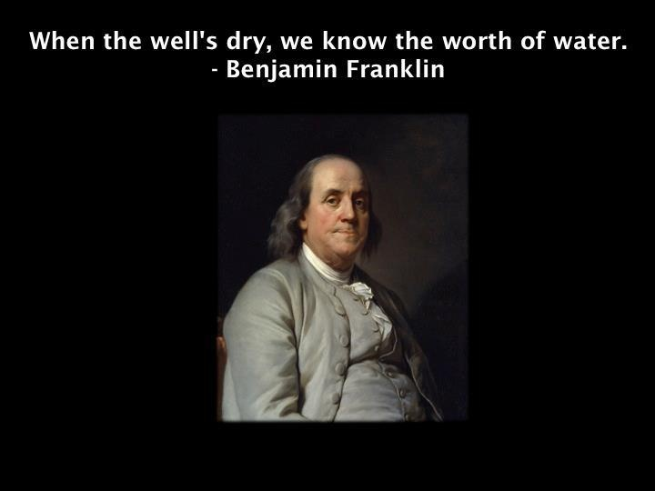 An analysis of love by benjamin franklin