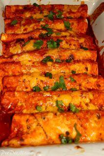 Food on Friday - Pioneer Woman Enchiladas