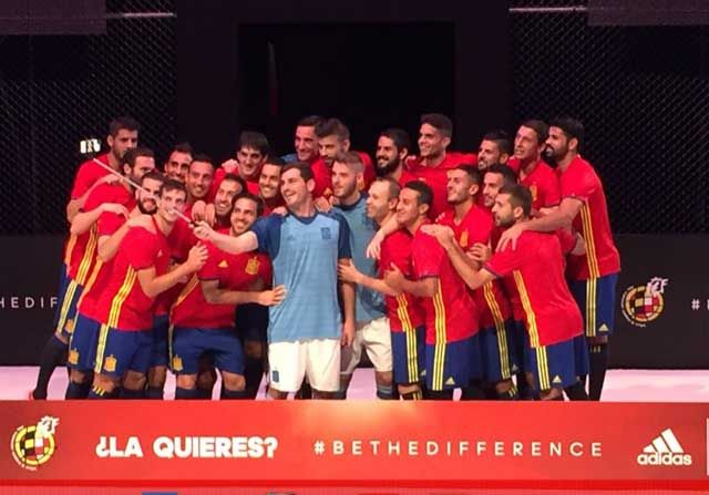 Insane Football: La selección española presenta su camiseta para la...
