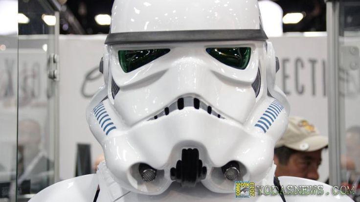 eFX collectibles debuts full scale Stormtrooper uniform replica at Comic Con