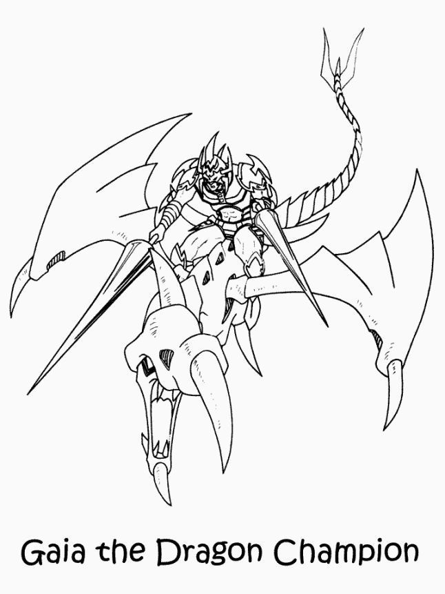 Free Printable Yugioh Coloring Pages For Kids Cartoon Coloring