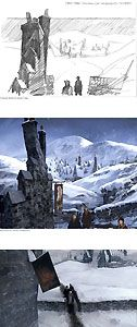 Harry Potter - Creating Hogsmeade - Stuart Craig - World-Wide-Art.com - #harrypotter #jkrowling #stuartcraig
