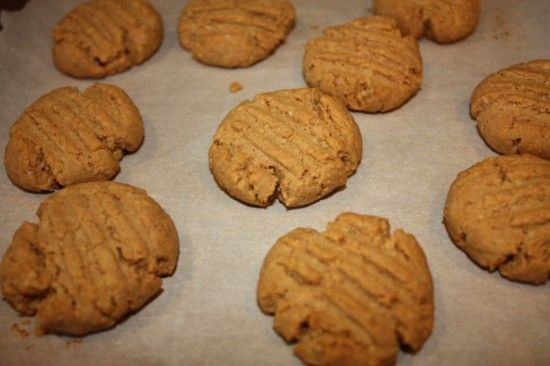 Low carb and glutten free peanut butter cookies. I tried a different recipe yesterday and it wasn't very good. This one even looks better. I'll let you know how they turn out.