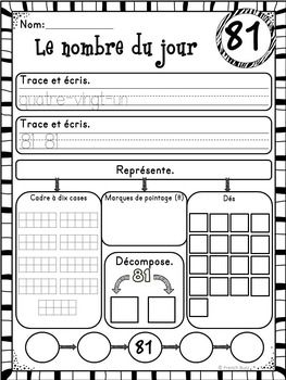25 best ideas about les nombres on pinterest les nombres en fran ais outi - Le gout du jour moulins ...