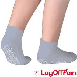 Cardinal Health - 58125-GRY - Single Tread Patient Safety Footwear with Terrycloth Interior, X-Large, Grey