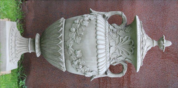 Amphore Vase CANTERBURY engl. Sandstein 160 cm 210 kg frostfest - Fa. LISE BENT